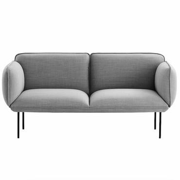 NAKKI 2 SEAT SOFA - GREY