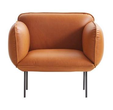 NAKKI 1 SEAT SOFA - CAMO SILK ANILINE
