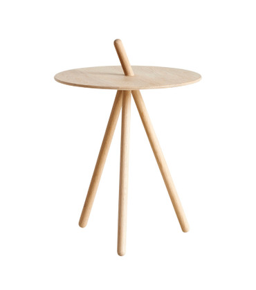 COME HERE SIDE TABLE - OAK