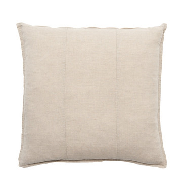 LUCA CUSHION NATURAL LARGE 60x60cms