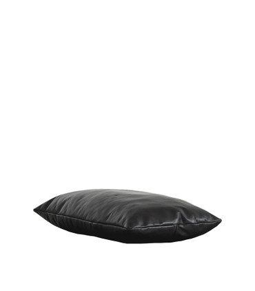LEVEL DAYBED PILLOW ( BLACK OR BROWN LEATHER)