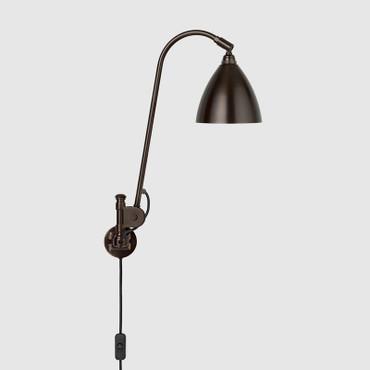 BESTLITE BL6 WALL LAMP - BLACK BRASS BASE