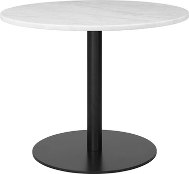 1.0 LOUNGE TABLE ROUND 80CM BLACK BASE