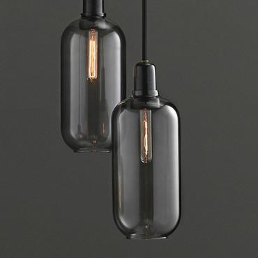 AMP LAMP BLACK / SMOKE LARGE