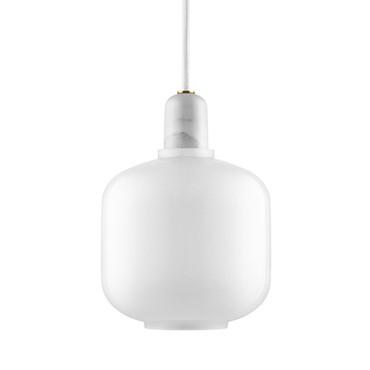 AMP LAMP WHITE SMALL
