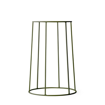 WIRE PLANT STAND IN OLIVE - MEDIUM