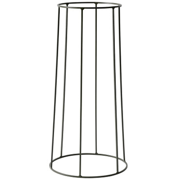 WIRE PLANT STAND IN OLIVE - LARGE