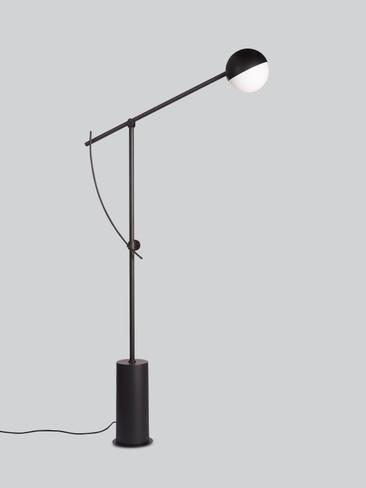 BALANCER FLOOR LAMP BLACK