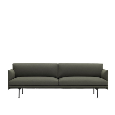 OUTLINE SOFA 3 SEATER FIORD 961