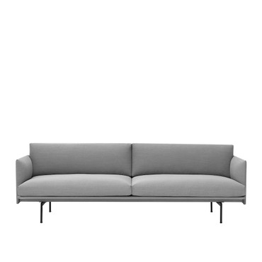 OUTLINE SOFA 3 SEATER FIORD 151