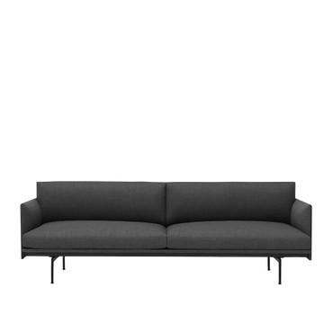 OUTLINE SOFA 3 SEATER REMIX 163
