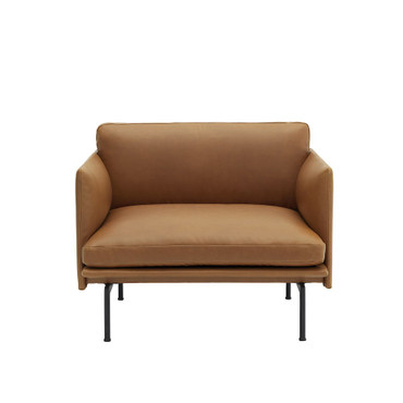 OUTLINE CHAIR COGNAC LEATHER