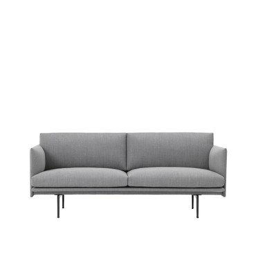 OUTLINE SOFA 2 SEATER FIORD 151