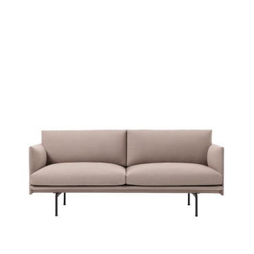 OUTLINE SOFA 2 SEATER FIORD 551