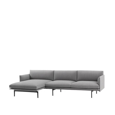 OUTLINE CHAISE LOUNGE FIORD 151
