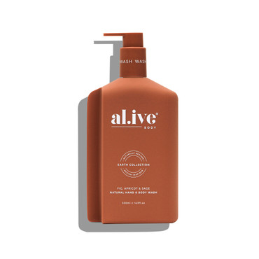 FIG, APRICOT AND SAGE HAND & BODY WASH 500ml
