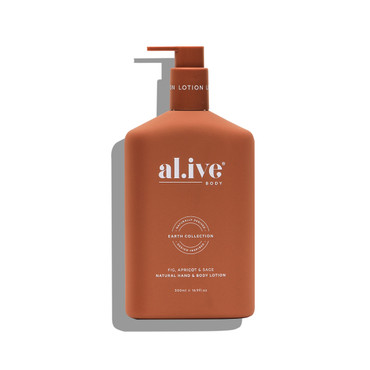 FIG, APRICOT AND SAGE HAND & BODY LOTION 500ml