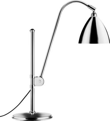 BESTLITE BL1 TABLE LAMP CHROME 16cms Dia