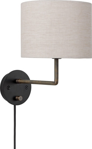 GRAVITY WALL LAMP LARGE ANTIQUE BRASS