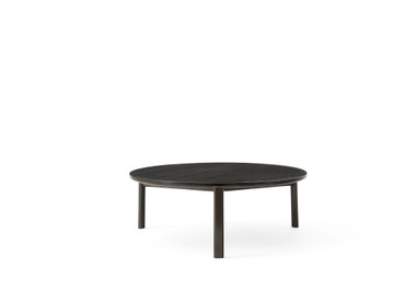PASSAGE LOUNGE TABLE DARK LACQUERED OAK