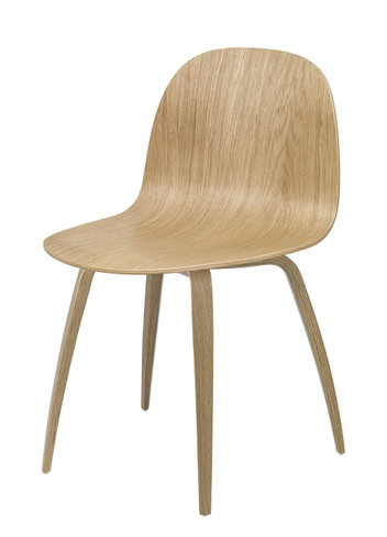 2D DINING CHAIR WOODEN BASE