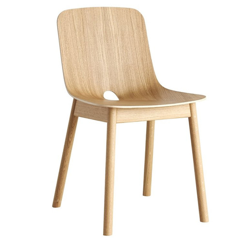 WOUD - MONO DINING CHAIR NATURAL