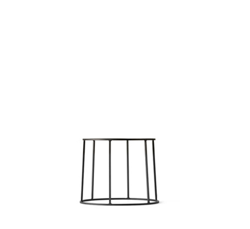 WIRE PLANT STAND IN BLACK - SMALL