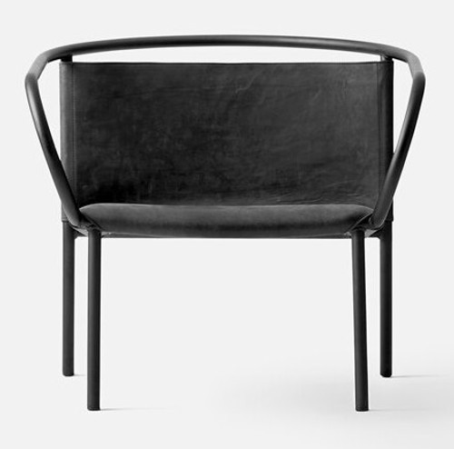 AFTEROOM LOUNGE CHAIR BLACK