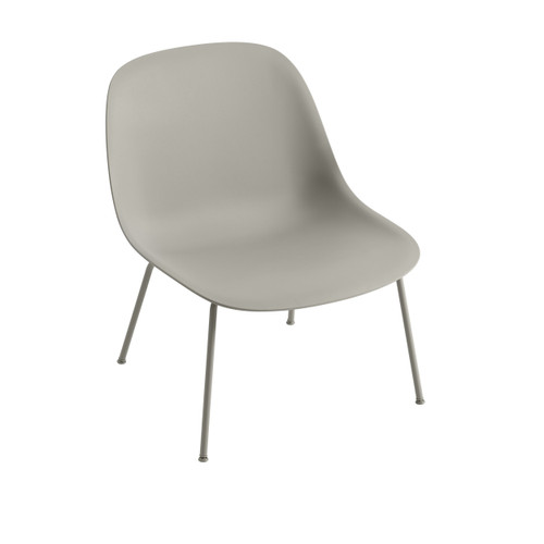 FIBER LOUNGE CHAIR WITH TUBE BASE