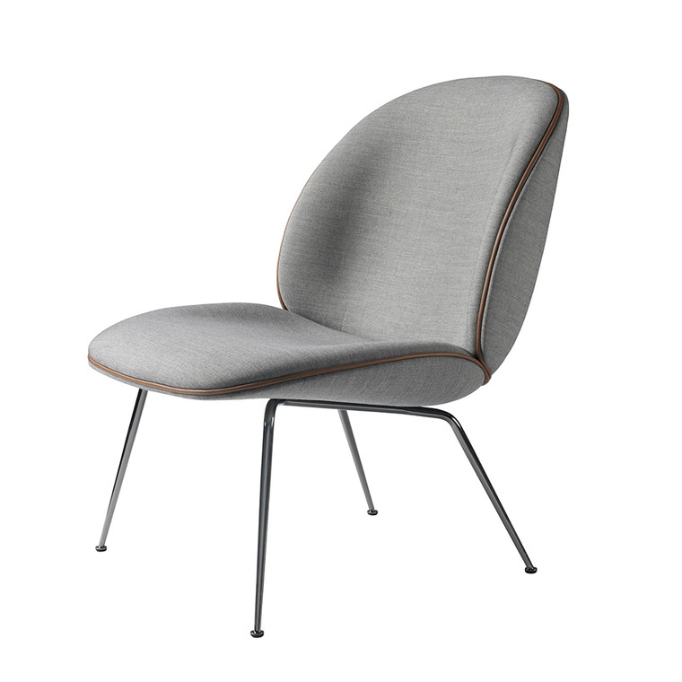 GUBI - BEETLE LOUNGE CHAIR UPHOLSTERED CONIC BASE