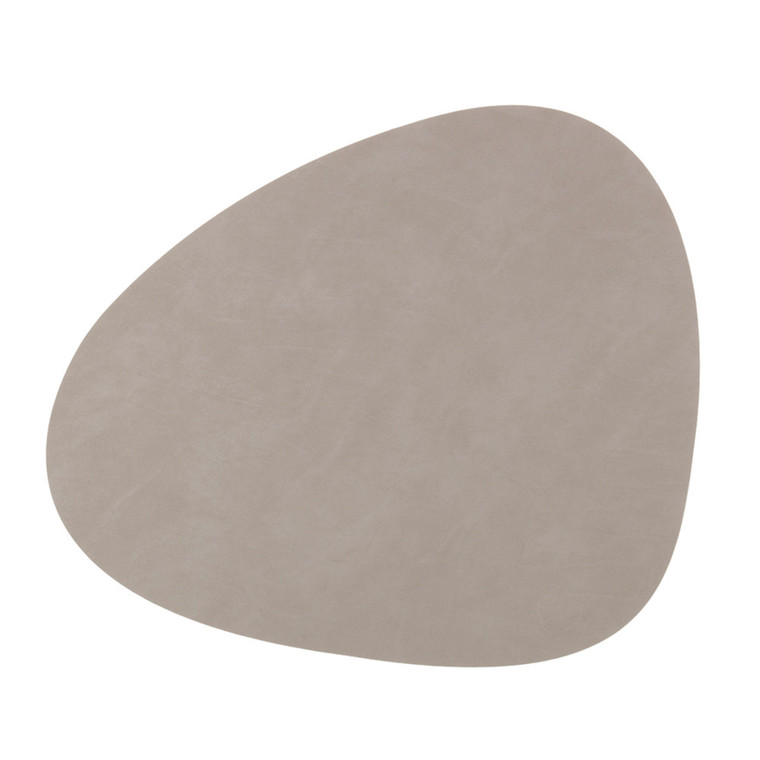 LIND DNA - CURVE TABLE MAT - LIGHT GREY