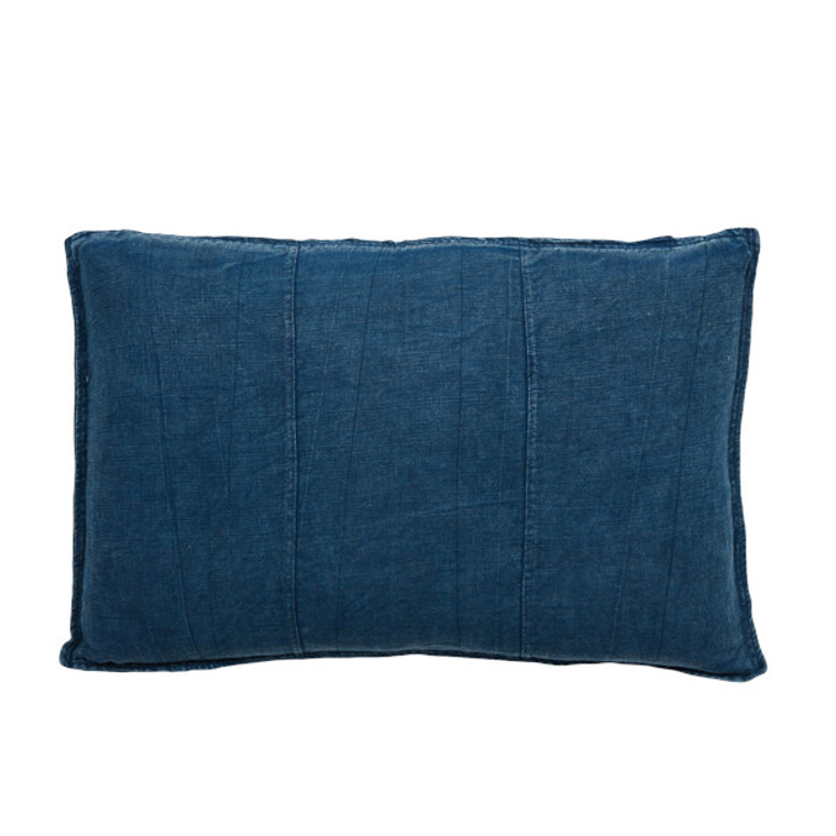 EADIE LIFESTYLE - LUCA RECTANGULAR CUSHION NAVY