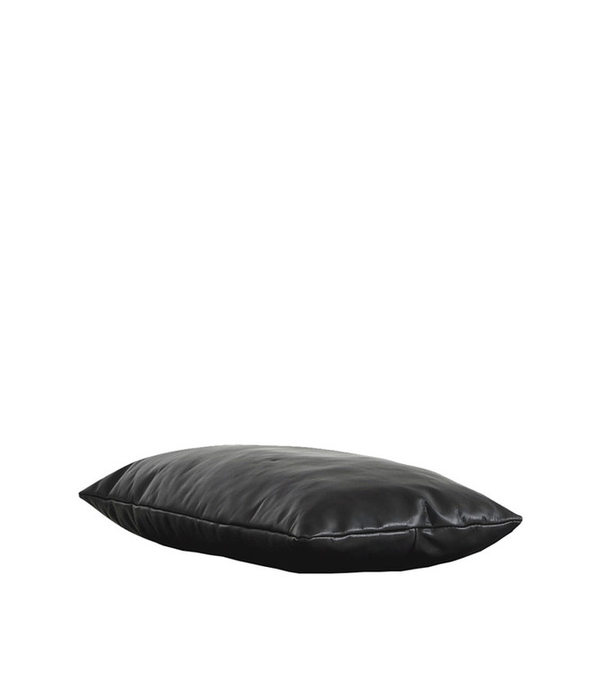 WOUD - LEVEL DAYBED PILLOW ( BLACK OR BROWN LEATHER)