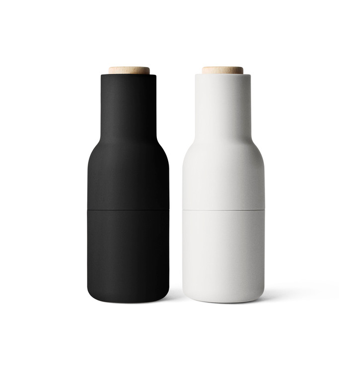 MENU - BOTTLE GRINDER 2 PACK ASH AND CARBON