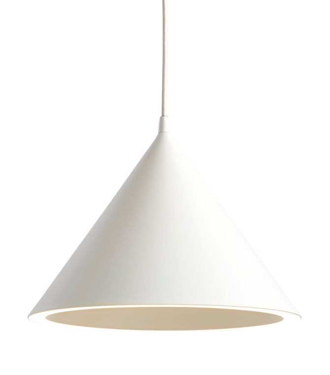 WOUD - ANNULAR PENDANT WHITE LARGE