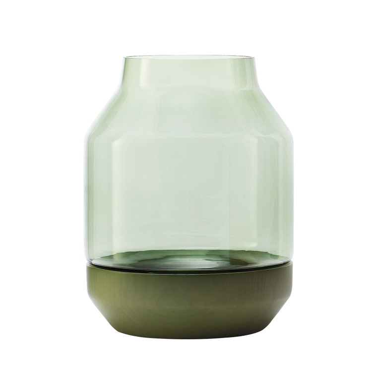 MUUTO - ELEVATED VASE - GREEN