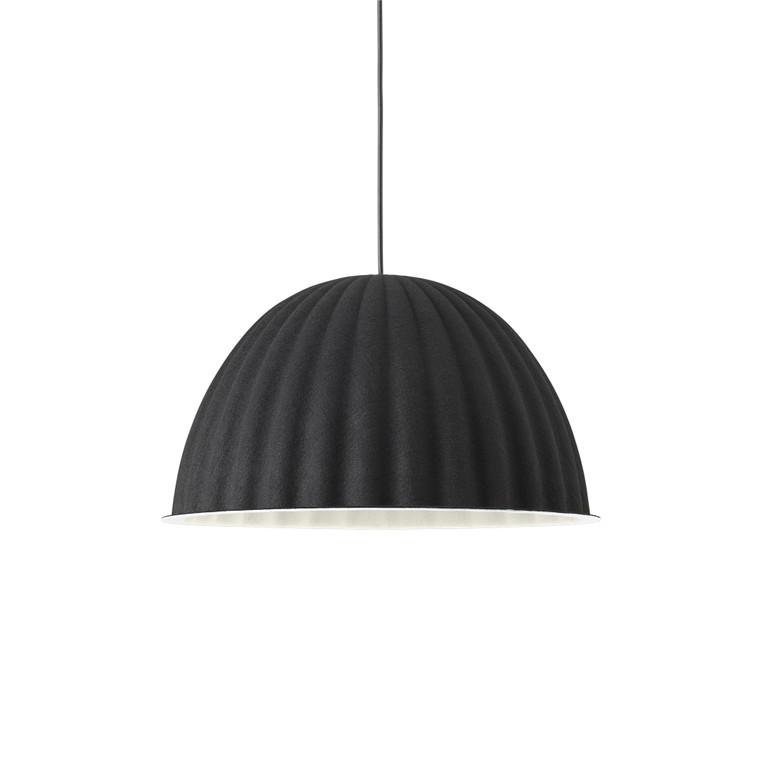 MUUTO - UNDER THE BELL PENDANT BLACK 55cm