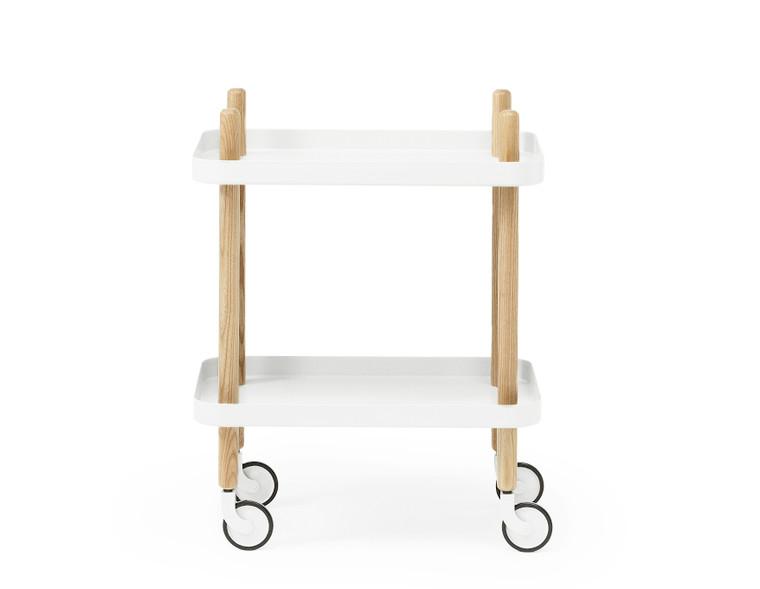 NORMANN COPENHAGEN - BLOCK TABLE WHITE