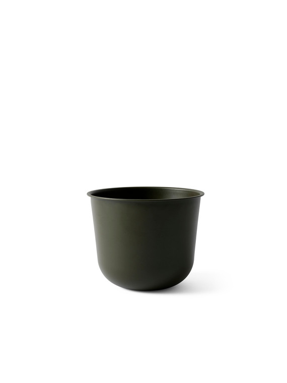 MENU - WIRE PLANT POT IN OLIVE