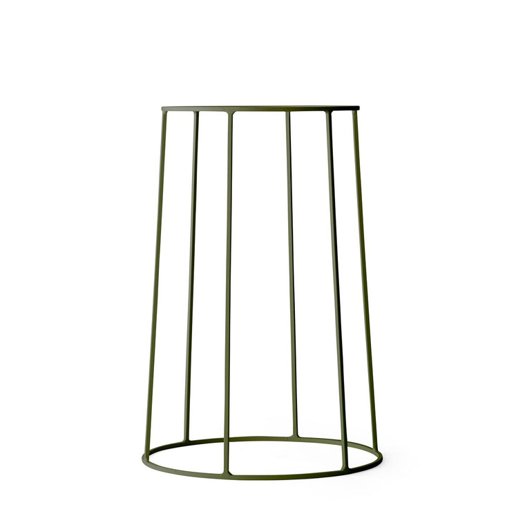 MENU - WIRE PLANT STAND IN OLIVE - MEDIUM
