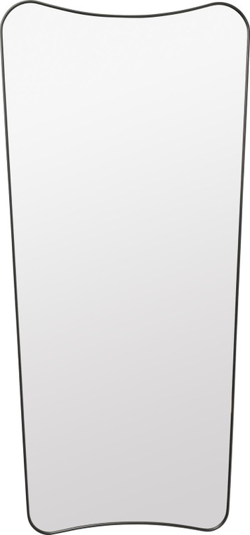 GUBI - F.A.33 RECTANGULAR WALL MIRROR - BLACK BRASS - LARGE