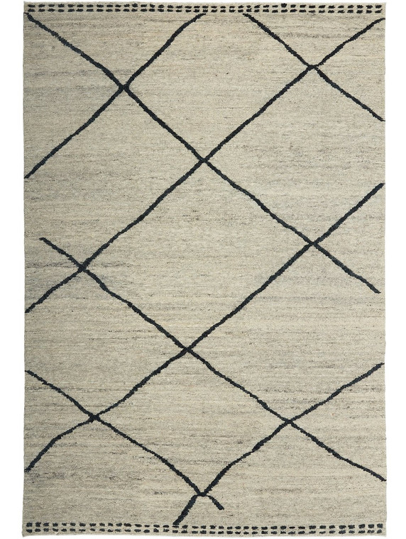 TRIBE HOME - RIDGE GREY AND CHARCOAL RUG