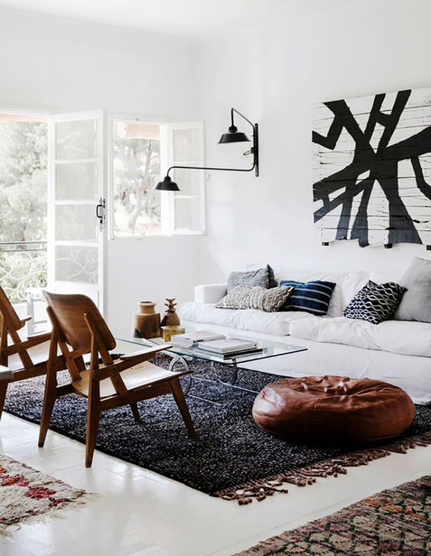THE MINIMALIST LIVING ROOM /// SHOP THE LOOK