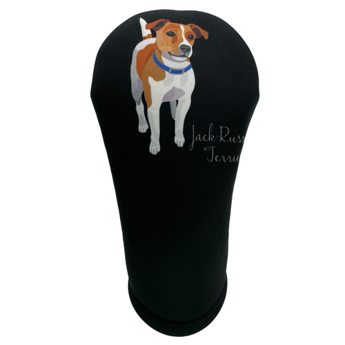 Dog Breed Jack Russell Terrier Golf Club Head Cover - Front