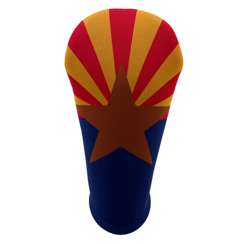 Arizona State Flag Golf Club Head Cover - Front