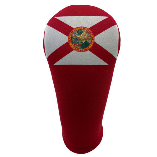 Florida State Flag Golf Club Head Cover - Front