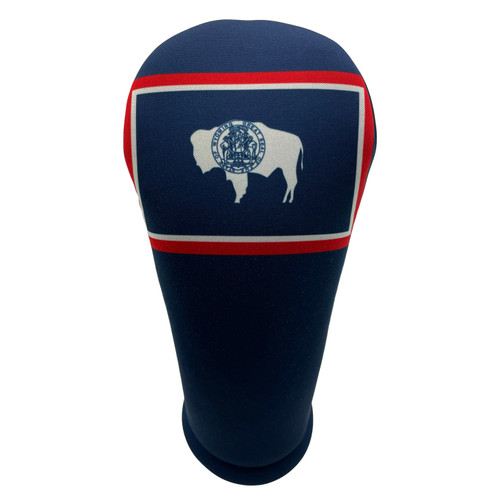 Wyoming State Flag Golf Club Head Cover