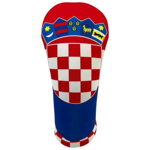 Flag of Croatia Golf Club Head Cover