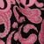 Black and Pink Paisley Golf Club Head Covers