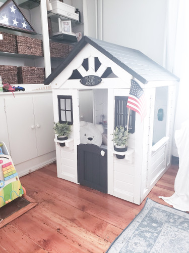 Enjoyable Cottage Style Playhouse Diy Southern Grown Vintage Interior Design Ideas Clesiryabchikinfo